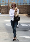 Emma Roberts - Leaving Coffee Place 5/23/14