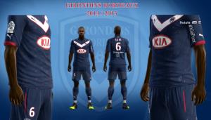 Download Girondins Bordeaux Home Kits 14-15 by Pakdhe