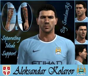 Download Aleksandar Kolarov HD (update tattoo) by santanAji