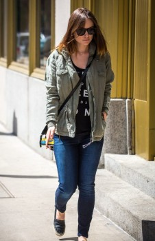 Olivia Wilde out and about New York, May 20, 2014