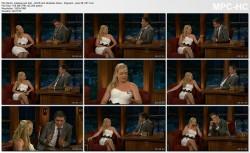Melissa Joan Hart LEGS, strapless dress - ferguson 6.28.11