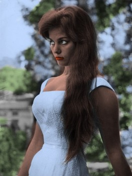 Claudia Cardinale - B/W Pictures - x 44 - Colored by me