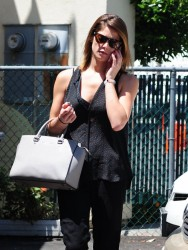 Ashley Greene - Going to a nail salon in Studio City 5/27/14