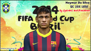 Download Neymar Da Silva Face By DzGeNiO and ElModamer