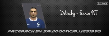 Download Face Mathieu Debuchy PES 2014