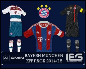huge selection of 8eee1 554f7 FIFA 14 FC BAYERN MUNCHEN KIT PACK 2014/15 by amin2244 ...