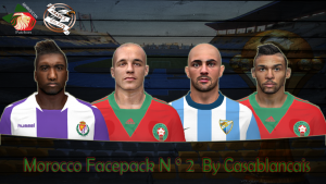 Download PES 2014 Morocco Facepack N°2 by Casablancais