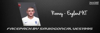 Wayne Rooney PES 2014 Face by saviogoncalves1995