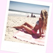 Allie Deberry - Bikini Twitpic 6/02/14