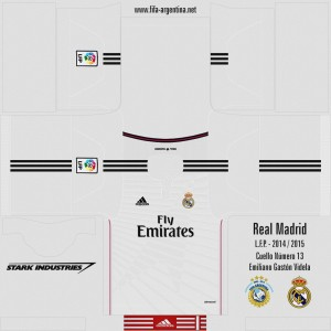 Real Madrid 14-15 Kits FIFA 14 by xuletafroilan1