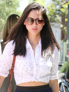 Olivia Munn - Beautiful Out and About in LA 6/3/14