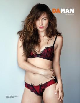 Briana Evigan - Daman Magazine 2014 *underwear*