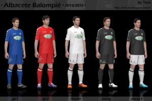 Albacete Balompié 14-15 GDB Kits by Txak