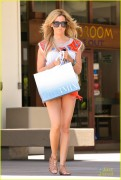 Ashley Tisdale - Shopping in West Hollywood 6/05/14