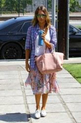 Jessica Alba - Out in Santa Monica 6/5/14