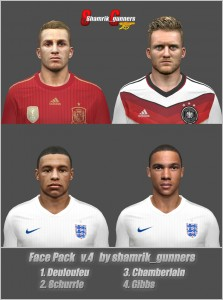 Face Pack v.4 by shamrik_gunners Download
