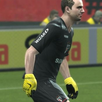 Download PES 2013 Nike Grip 3 - Yellow-Black by Manabu10