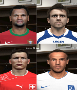 Download PES 2014 WC #3 FacePack by Rednik