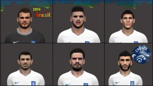 Download Greece NT PES 2014 Facepack by pantelg7