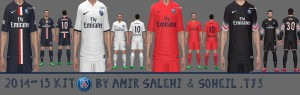 PSG 2014-15 kit by Amir27 and soheil.t73