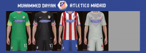 Download Atletico Madrid 14-15 GDB Kits by Muhammed Dayan