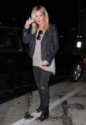 Ashley Tisdale - Leaving Craig's in West Hollywood 6/9/14