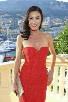 Jaime Murray , Minister of State cocktail, Monte Carlo TV Festival, 10/06/2014