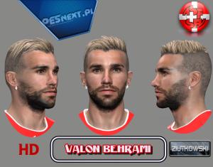 Valon Behrami PES2014 Face by ZIUTKOWSKI