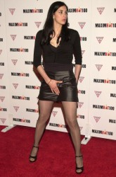 Sarah Silverman @ MAXIM Hot 100 Party  4/25/02