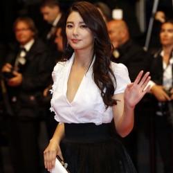 Zhang Yuqi at  'Tian Zhu Ding' premiere Cannes 2013 5/17/13