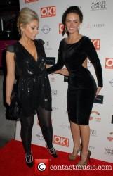 Gemma Merna And Jennifer Metcalfe at OK! Magazine Christmas Party In London