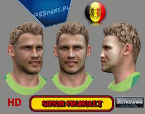 Download PES 2014 Simon Mignolet Face by ZIUTKOWSKI