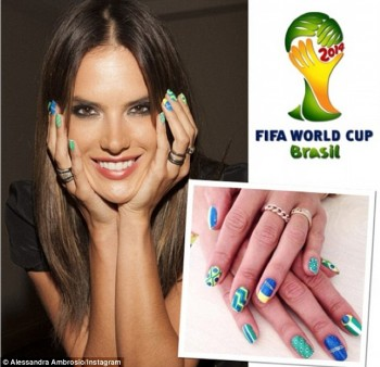 Alessandra Ambrosio - Promote her home country of Brazil x 8