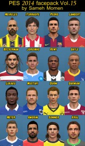 PES2014 Facepack vol.15 by Sameh Momen