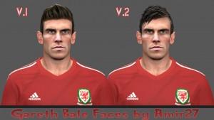 Gareth Bale 2 Version Faces by amir27