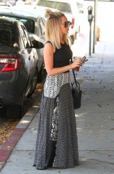 Ashley Tisdale - Leaving Nine Zero One salon in West Hollywood 6/12/14