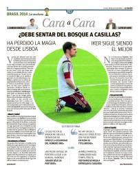 Prensa Deportiva - Iker Casillas 5ee8cb333453527