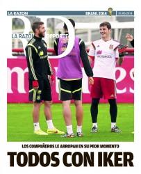 Prensa Deportiva - Iker Casillas 8645f9333453487