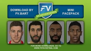 Mini Facepack for FIFA 14 by FV.Bart