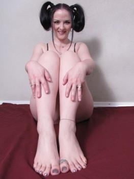 Feet caroline pierce
