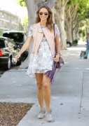 Stacy Keibler - Out in Santa Monica 6/18/14
