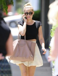 Lauren Conrad - Out for lunch in West Hollywood 6/18/14