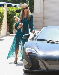 Paris Hilton - Shopping in Beverly Hills 6/18/14