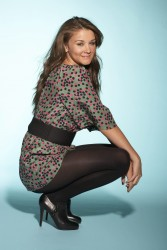 Brooke Vincent in pantyhose from unknown photoshoot