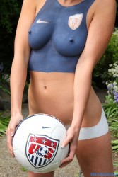 Congratulate, Usa football girls nude