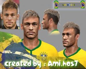 Download Neymar Jr. Last Face in WC 2014 by Ami.hos7
