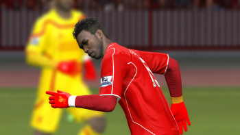 Download Liverpool Player Gloves by Firas Zinou