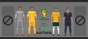 Download Australia WC 2014 Kits by Wuguernalt