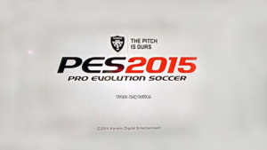 Download Official Pes 2015 Start Screen For Pes 2014