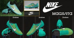 Download Nike Magista Blue-Yellow-White-Black For PES 2014